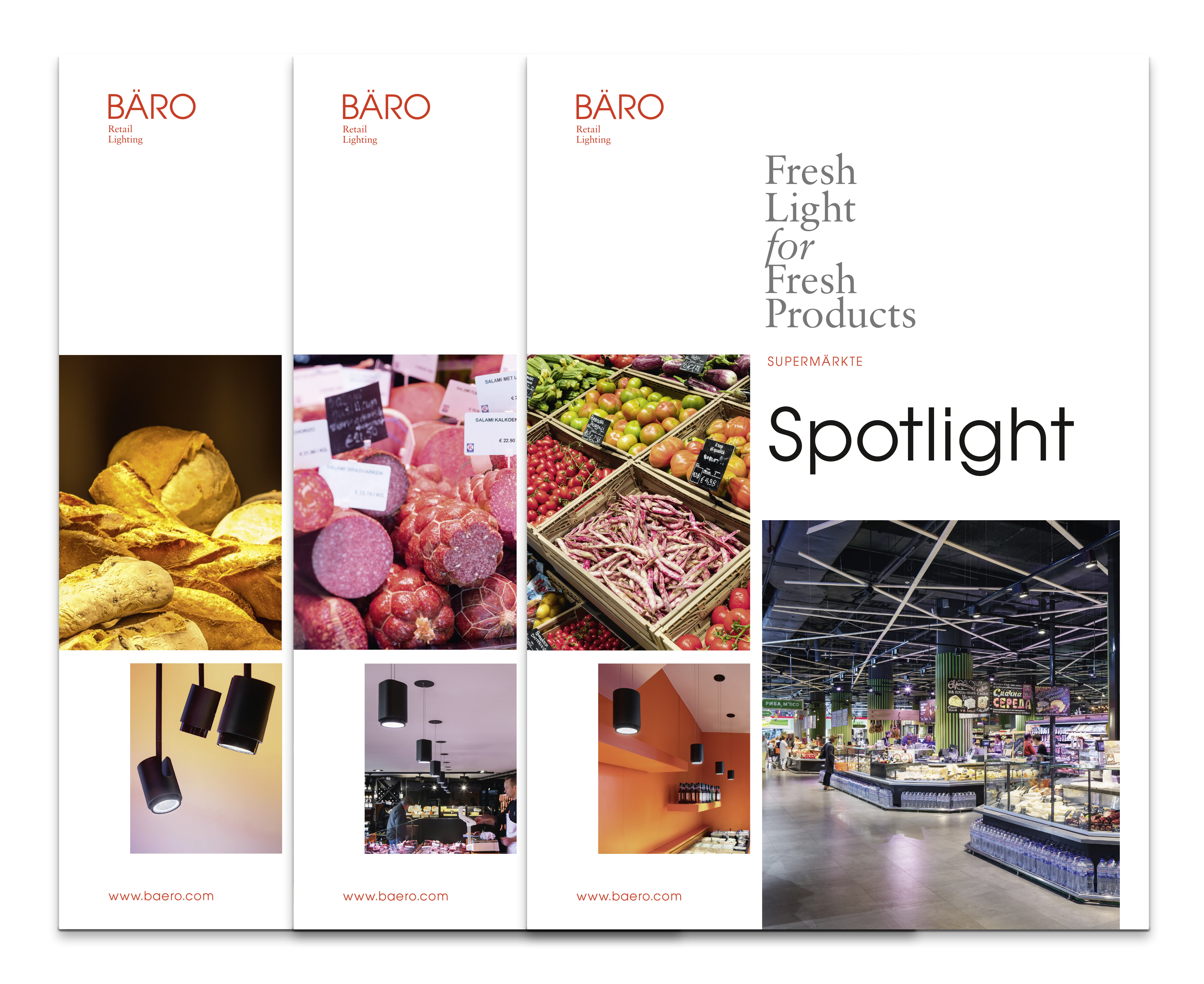 New Spotlight brochures from BÄRO