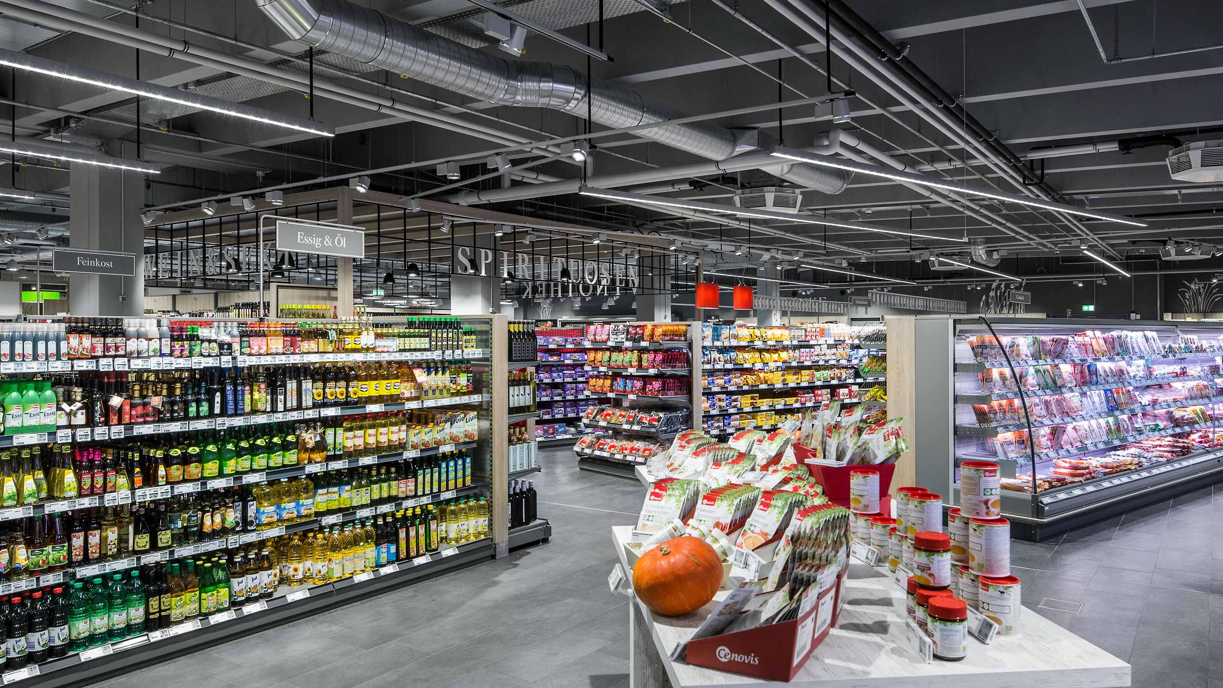 Lenka In Supermarket