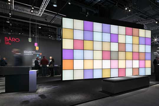 "Light + Building 2018: With ""The Colour of Light"" BÄRO inspired experts and planners from around the world."